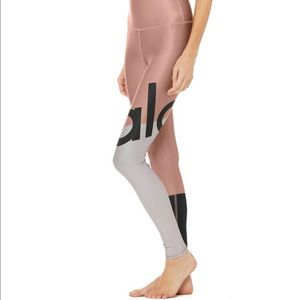 Aloyoga high-waist air lift airbrush legging